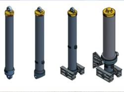 Стандартные гидроцилиндры HYVA 190 bar