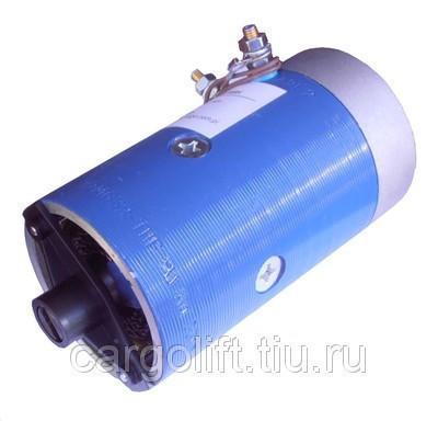 Электродвигатель 12 В.   0,8 кВт   Bar Cargolift