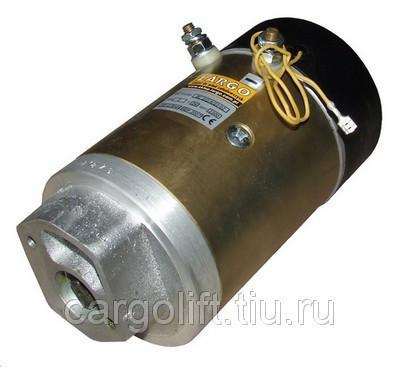 Электродвигатель 12 В.   1,5 кВт   Bar Cargolift
