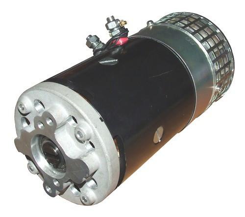Электродвигатель 24V, 3.0 KW - тип Hesselman.