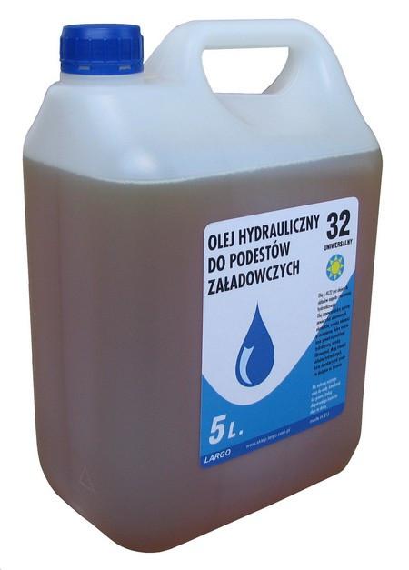 Гидравлическое масло для подъемников и гидробортов - 5 л.