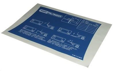 Информационная табличка гидроборта MBB Hubfix