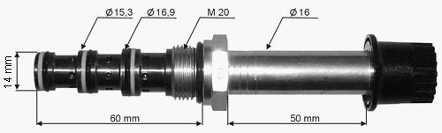 Клапан  трехсекционный - Anteo, Zepro