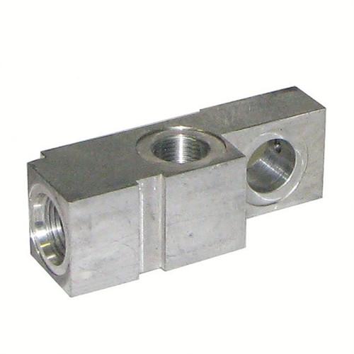 Клапанный блок гидроцилиндра для гидроборта Dhollandia - левый