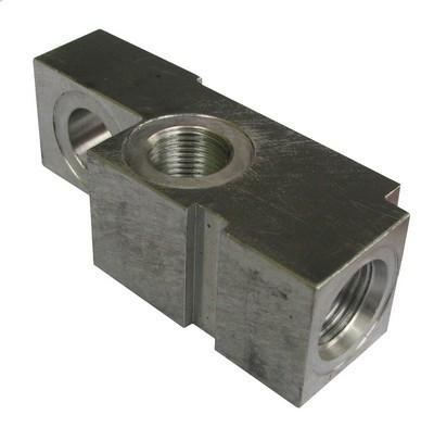 Клапанный блок гидроцилиндра для гидроборта Dhollandia - правый