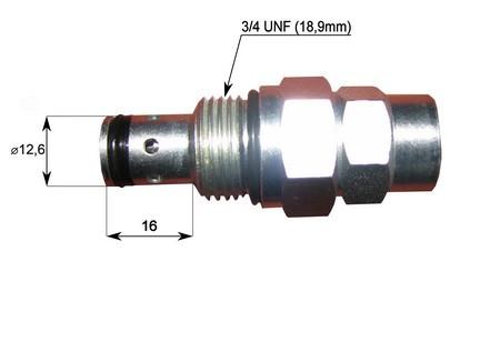 Предохранительный клапан Haldex