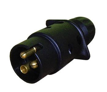Разъем на 3 контакта для пультов управления гидробортов Dautel