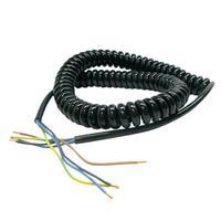 Спиральный кабель 4-жильныйх1мм