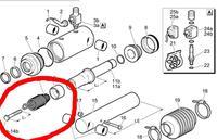 Винт для монтажа пружин Fi 55 Dhollandia