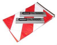 предупреждающие флаги, наклейки  MBB Hubfix